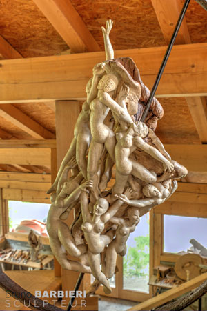 Sculpture de Bruno Barbieri : Catharsis
